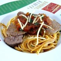 Spaghetti Rindfleisch