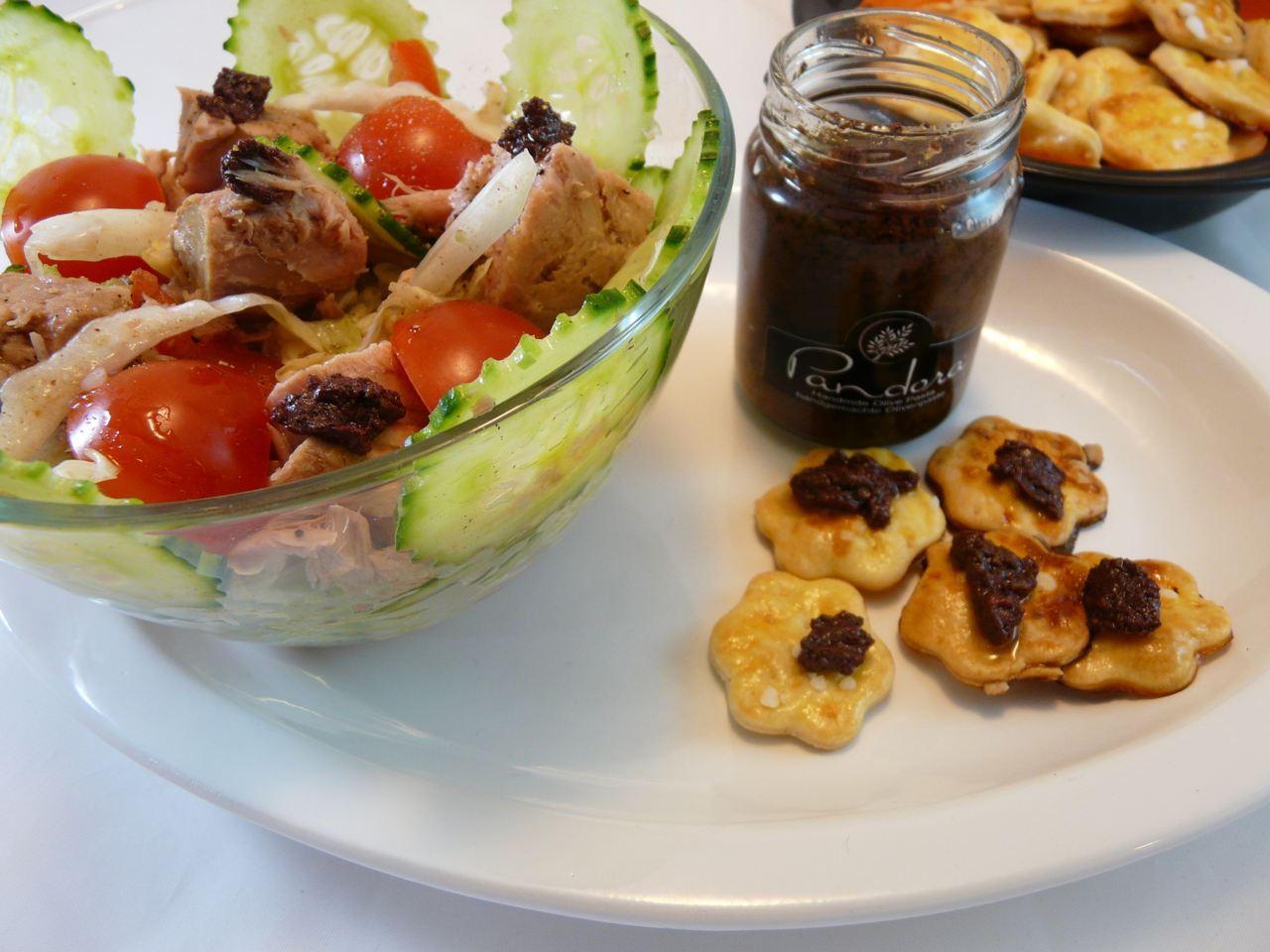 Fingerfood lecker zu Salaten