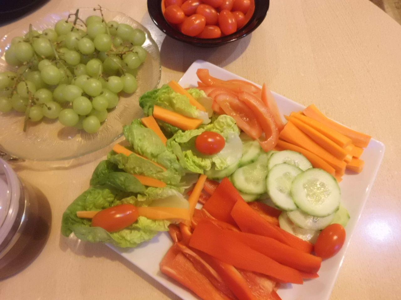 frischen Gemüse zum Zoppen