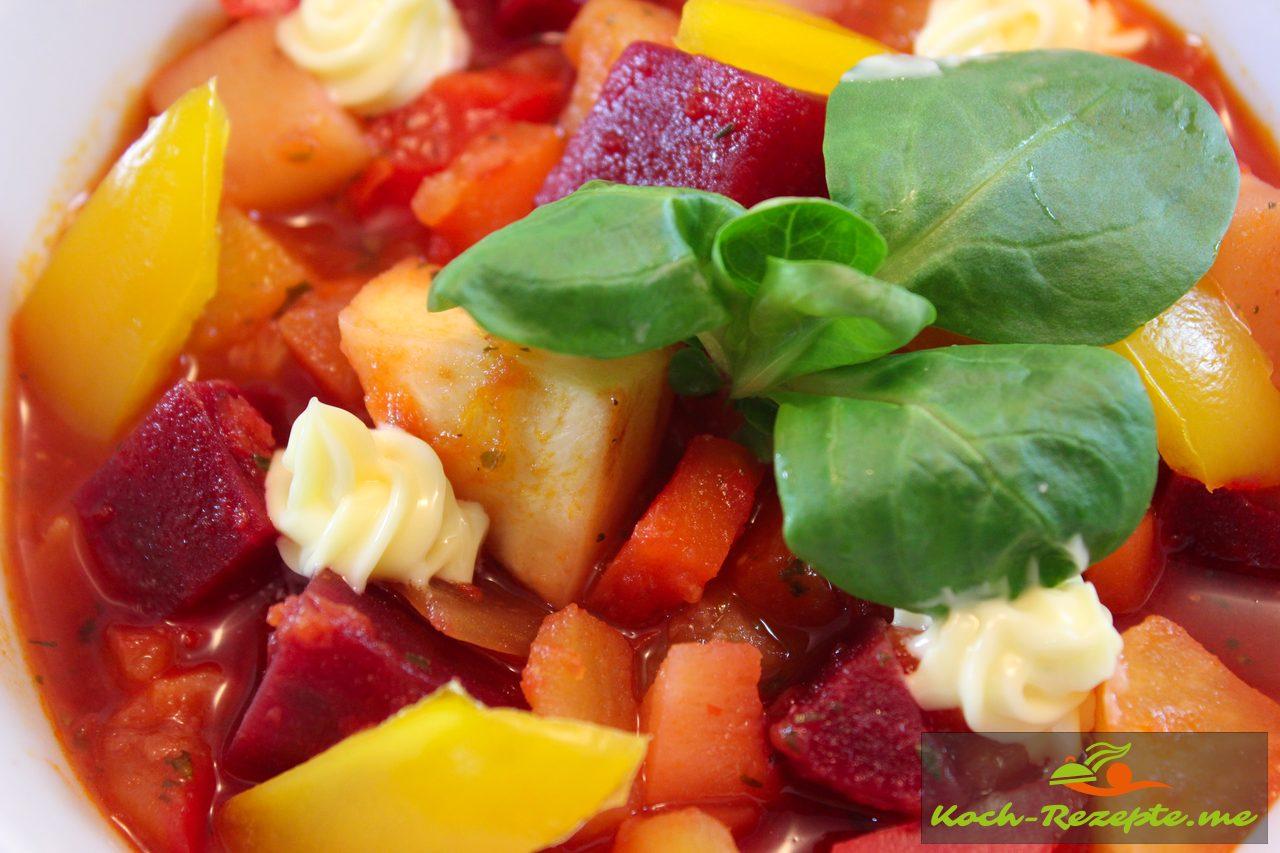 vegetarische gem sesuppe mit kartoffeln tomaten petersilienwurzel. Black Bedroom Furniture Sets. Home Design Ideas