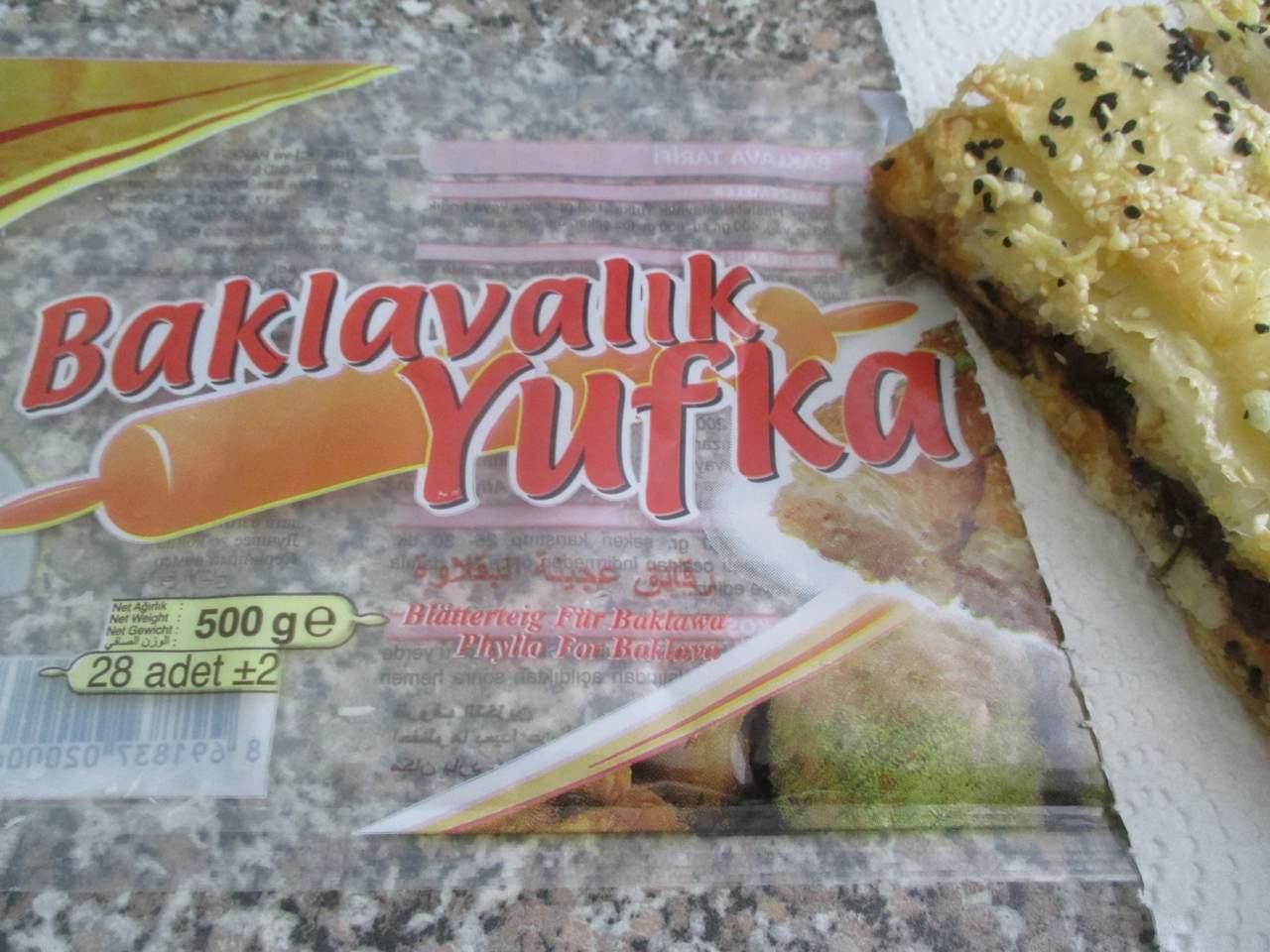 Der Yufka Teig ( Blätterteig)