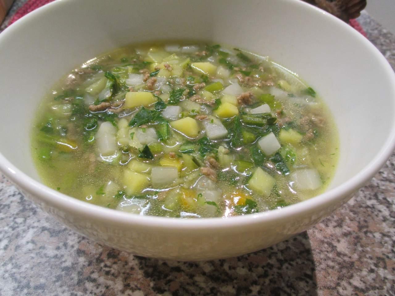 Mairübchen Suppe
