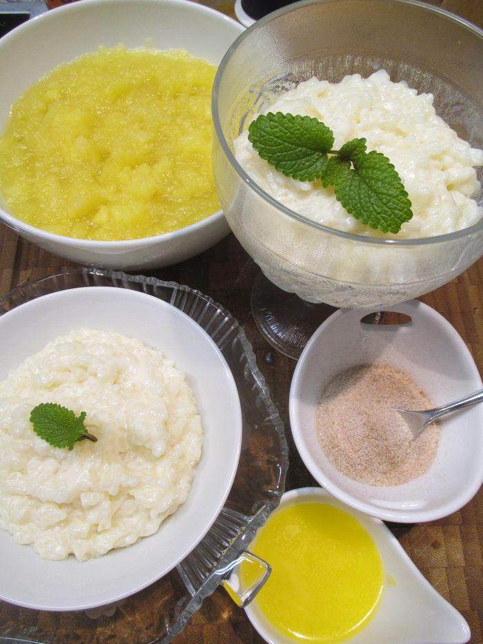 Dessert Milchreis