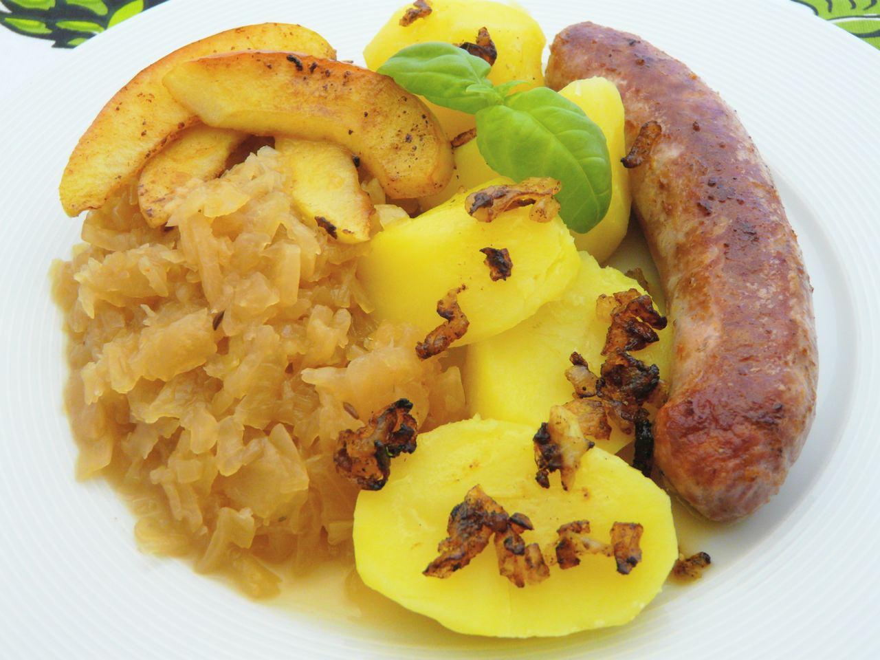Bergisches Apfel-Sauerkraut