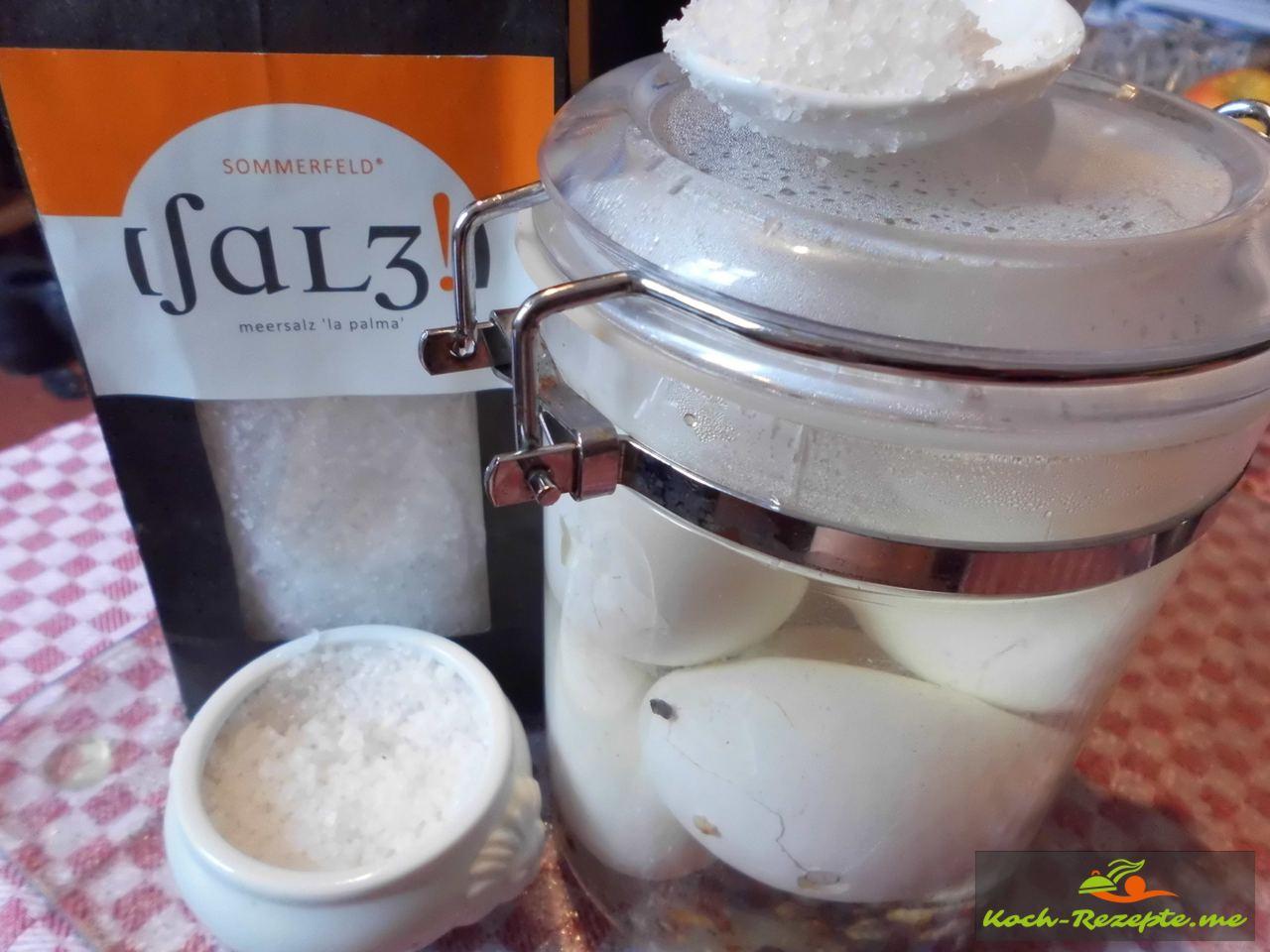 Meersalz von La Palma Sommerfeldsalz Slow Food geprüft