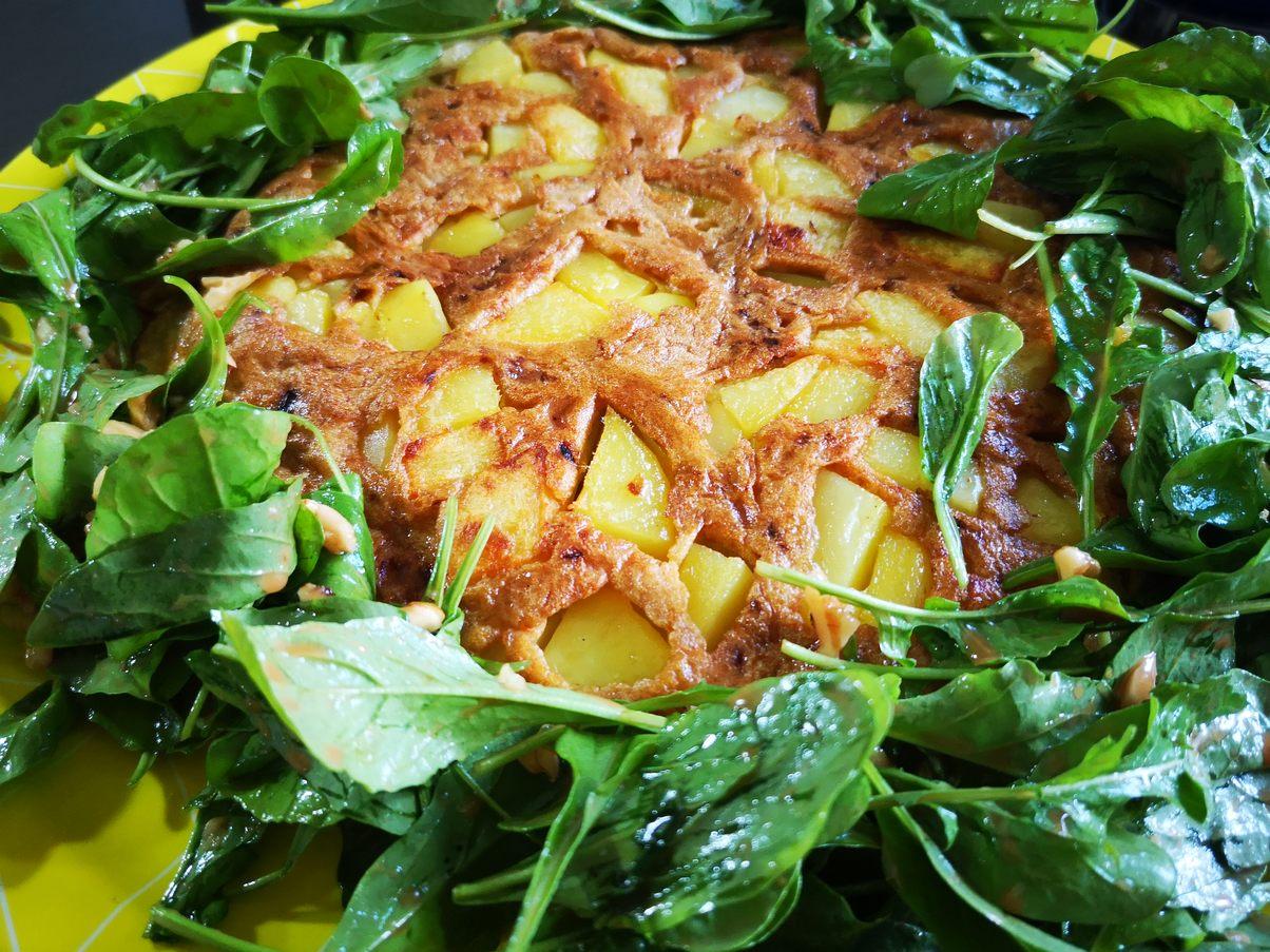 lecker anrichten mit Salat